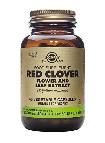 Solgar Trébol Rojo Extracto de Flor y Hoja (Trifolium pratense) - 60 Cápsulas vegetales