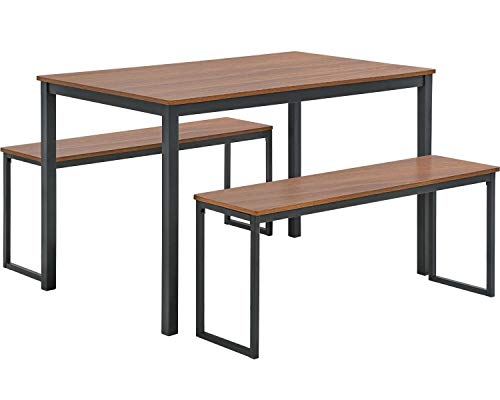 FDW Dining Table Set Dining Table and Bench Kitchen Table