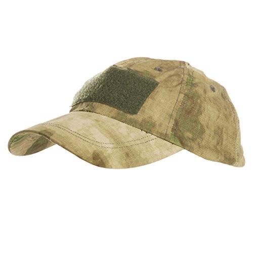 Casquette tactical aU profil desert camouflage avec fixation velcro pour installation de patchs