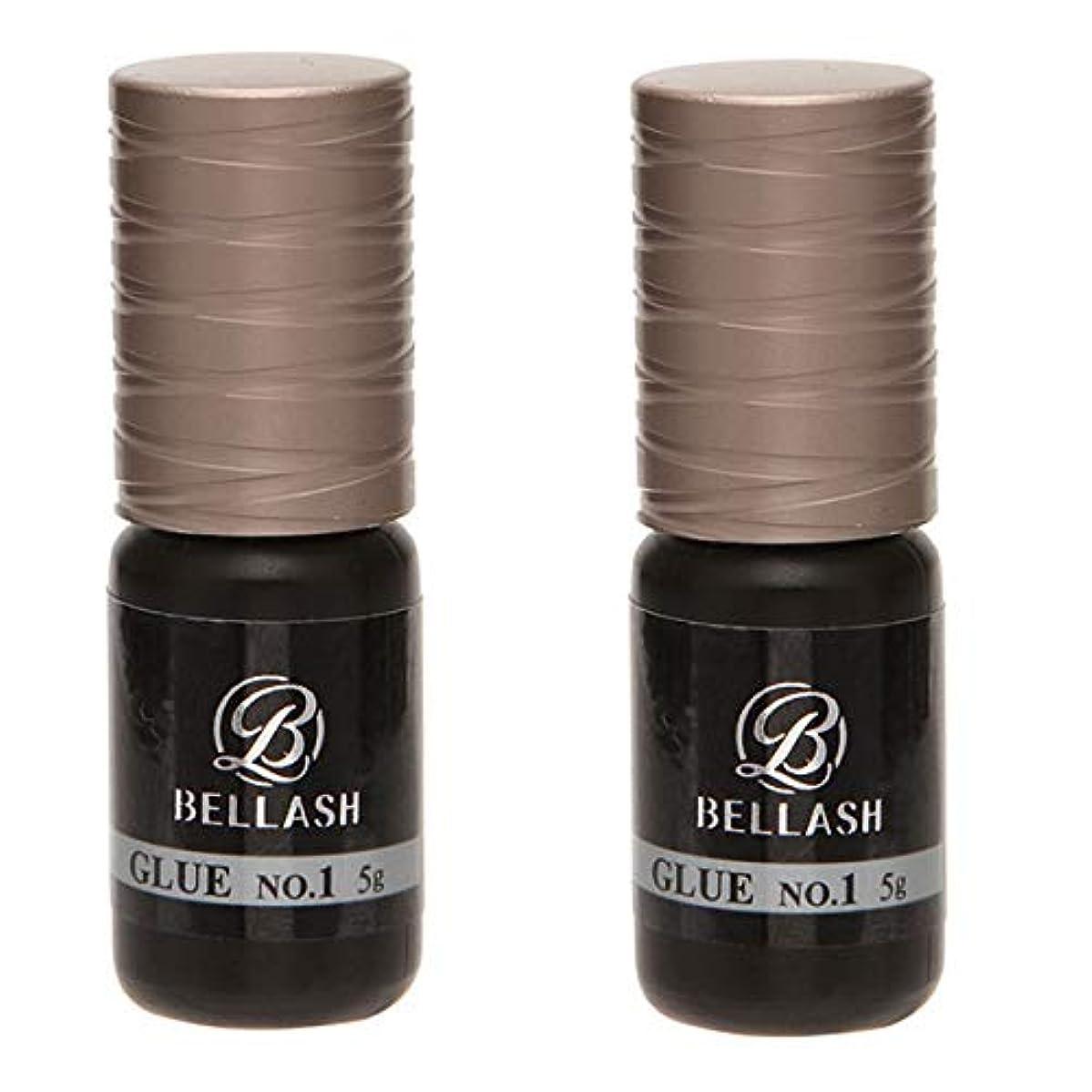 のりちらつきボウリングBELLASH グルー NO.1 5g (2個セット) [ まつ毛グルー マツエクグルー つけまつげ つけまつ毛 接着剤 高持続 速乾 まつげエクステ まつ毛エクステ マツエク エクステ まつげ まつ毛 業務用 ]