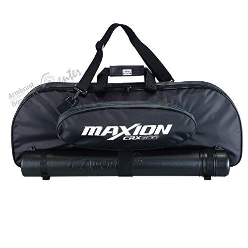 Bogentasche, Recurvbogen Tasche , Recurvebogen, Take Down Tasche incl.Pfeilröhre in schwarz
