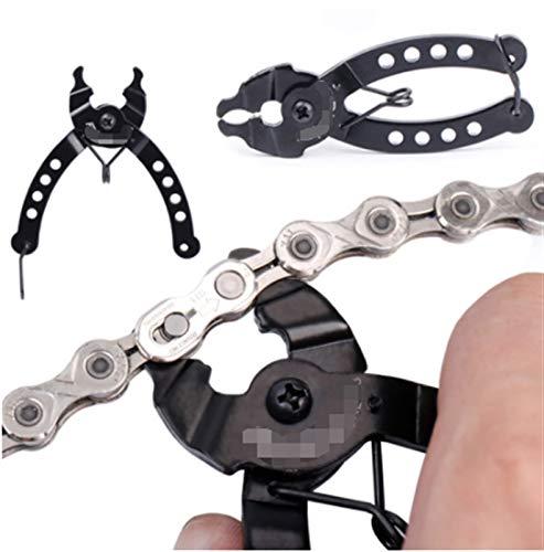 Lcbiao® Fahrradkette Mini Mountainbike Kette Quick Link Bike Gauge Werkzeug Bremssättel Messschraube Kette Haken Radfahren Zubehör (Color : Chain Tool)