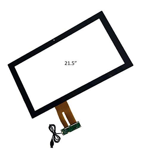 GREENTOUCH 54,6cm Touch Panel PCAP Kapazitive Touchscreen Multi Touch Glas USB Treiberlose