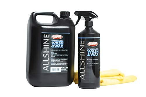All Shine 5 Litre Waterless Car Wash & Wax Kit.
