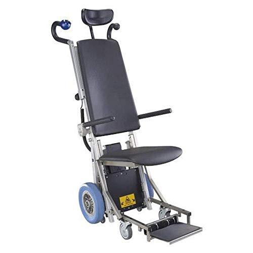 ZHANGYY Silla de Ruedas eléctrica para Subir escaleras, Silla de Ruedas portátil para discapacitados, Transporte de escaleras Arriba y Abajo, Herramienta de Viaje de Cuatro Ruedas