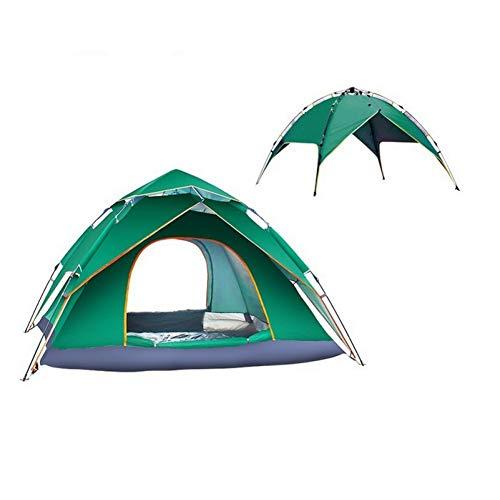ZHJLOP tent 4 Persoon 240x210x135cm Dubbele Lagen Grote Camping Tent Paraplu Type Outdoor G4 Automatische Hydraulische Tent