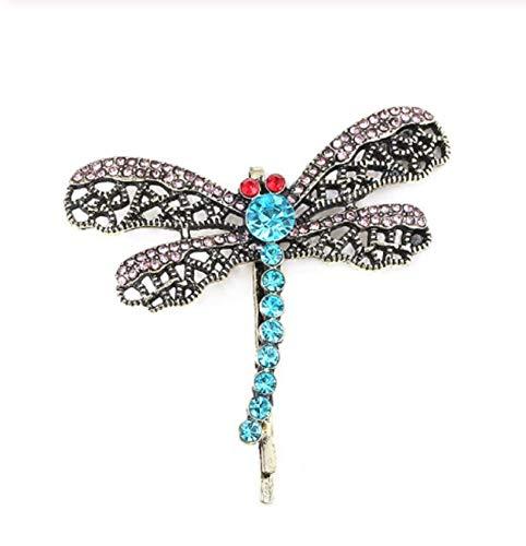 pretty.lovable.mishmash Coraline Kristall Haarklammer Libelle Haar Clip