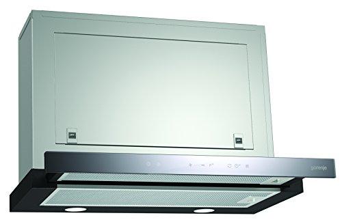 Gorenje BHP 643 A5BG Flachschirmhaube/ 60 cm/AB- oder Umluftbetrieb möglich/TouchControl-Bedienung auf Glas, Edelstahl