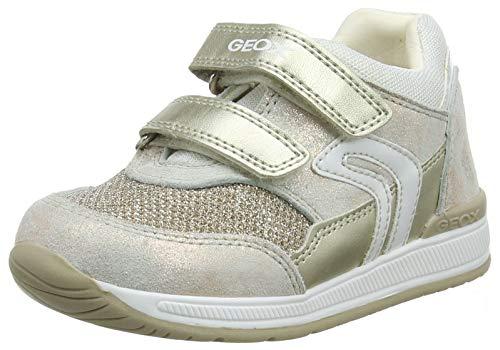 Geox Baby Mädchen B Rishon Girl a Sneaker, Beige (Copper C7018), 23 EU
