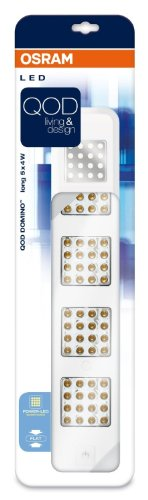 Preisvergleich Produktbild Osram 73261 QOD Domino Long 5 x 4 W LED-Unterbauleuchte,  weiß