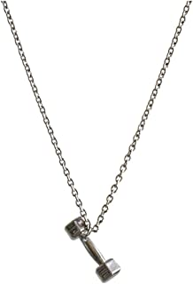 Necklaces البساطة التيتانيوم الصلب سلسلة قلادة، أزياء شخصية قلادة زوجين، سبيكة قلادة الدمب قلادة النمذجة Necklace for Wome...