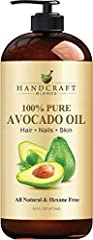 100% PURE & NATURAL AVOCADO OIL unfiltered, undiluted without any additives or fillers. Rich in vitamins and fatty acids it is truly a wonder carrier oil. From skin care to aromatherapy and way beyond this amazing oil has endless uses. NATURAL SKIN M...