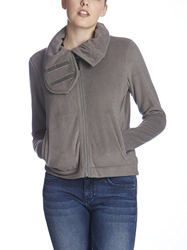 Bench Damen Fleecejacke DIFFERENCE, Gr. Small, Grau (Dark Grey GY149)