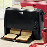 Chef Tested Quick Serve Toaster by Wards, Black from Montgomery Ward