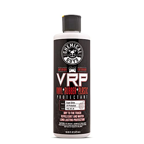 Chemical Guys TVD_107_16 V.R.P. Vinyl, Rubber and Plastic Non-Greasy Dry-to-the-Touch Long Lasting...