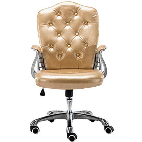 TXYJ Bürostuhl Chefsessel Schreibtischstuhl Bürodrehstuhl aus Kunstleder...