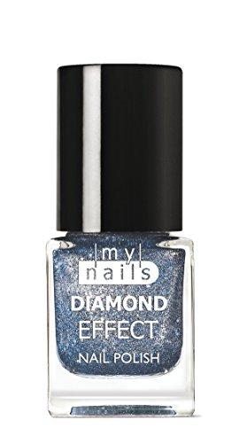 My Nails – Bleu Diamond Effect