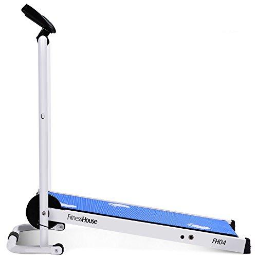 Fitness House Fhci 02 Macchina Pieghevole Self-Powered Impasse Fitness Passeggio, Blu, S/M/L