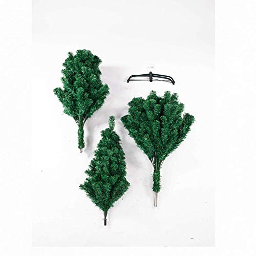 RBtoday 7FT PVC Artificial Christmas Tree with 1100 Branches, 6FT, Green - Artificial Christmastree Holiday Decoration, Easy Assembly