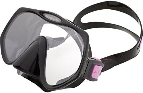 Atomic Aquatics Frameless Scuba Diving Dive Mask Pink Black Medium Smaller faces product image