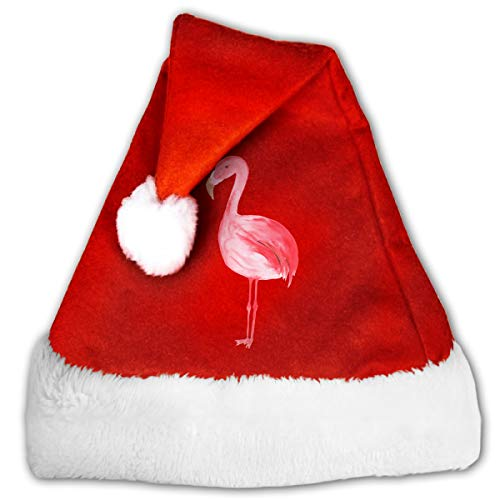 CZLXD Weihnachtsmütze mit Flamingo-Motiv