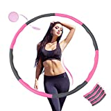 KALINCO Hula Hoops for Adults Weight Loss, Weighted Hula Hoop for exercise, Adjustable 8 Sections for Fitness