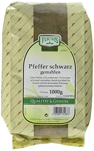 Fuchs Pfeffer schwarz gemahlen (1 x 1 kg)
