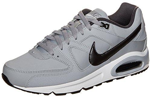 Nike Herren Air Max Command Leather Shoe Laufschuhe, Grau (Wolf Grey/MTLC Dark Grey/Black/White 012), 40 EU