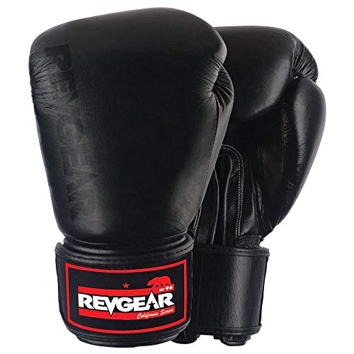 Revgear Original Leather Boxing Glove (16-Ounce)