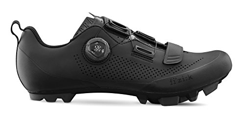 Fizik X5 Terra Cycling Footwear, Black, Size 45