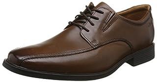 Clarks Men's Tilden Walk Derbys, Brown (Dark Tan Lea), 10 UK (B06XCHJ41F) | Amazon price tracker / tracking, Amazon price history charts, Amazon price watches, Amazon price drop alerts