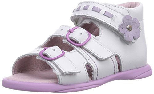 Däumling Becky Lauflernschuhe Baby Mädchen, Weiß (Astrale weiß71), 20 EU