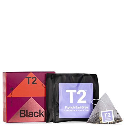 T2 Tea Black Teabag Emergency Gift Pack, 5 Tea Bag Sachets, 0.4 Oz