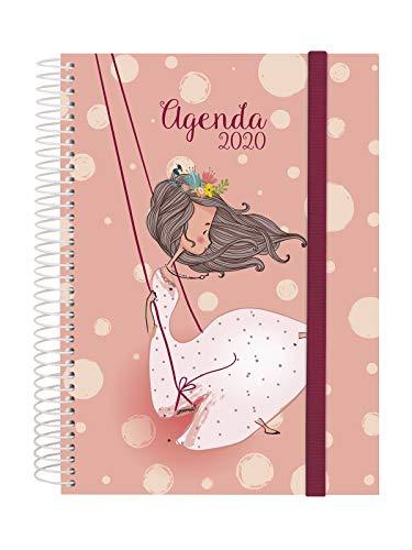 Finocam - Agenda 2020 1 día página Espiral Design...