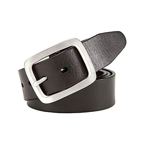 Lässige Gürtel Herren Ledergürtel geeignet für formelle Casual Occasion Boutique Bekleidungszubehör, Lässige Mode-Accessoires (Größe : 130cm)