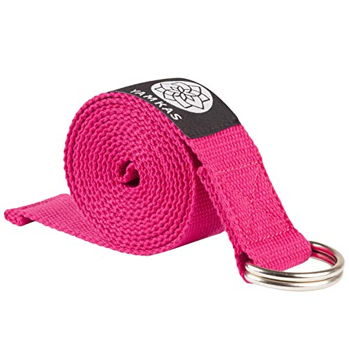 Yamkas Yoga Gurt 100% Bio Baumwolle | 1.8M - 3M Lang | Yogagurt...
