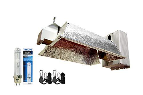 Grow Co. 630W CMH Ceramic Metal Halide System w/ 2x 3100K Full Spectrum Bulb 240V Power Cord and 120V Power Cord