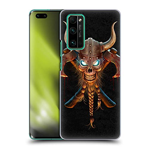 Head Case Designs Officially Licensed Christos Karapanos Viking Horror 4 Hard Back Case Compatible with Honor 30 Pro / 30 Pro Plus