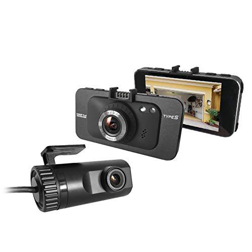 TYPE S TOURING ITEMS BT56282-2 DuoView Full 1080p HD Dash Camera