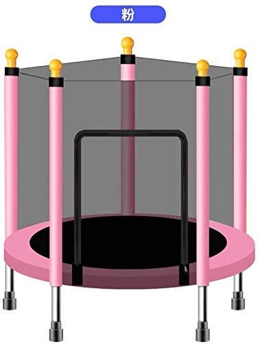 LuoMei Rebounder para Niños Grandes Rebote Trampolín Fitness Ejercicio Hogar Plegable con Trampolín Trampolín de Interior para NiñosEl 110x120cm