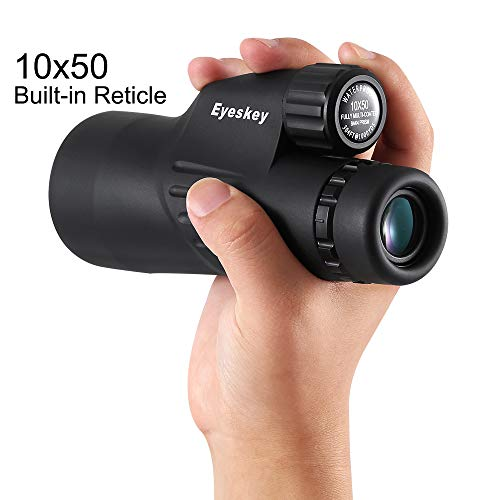 Why Should You Buy XUNAN Monocular Telescope High Power 10X50 with Reticle Can Measuring Distance HD...