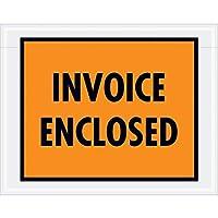 Top Pack Supply Tape LogicInvoice Enclosed Envelopes 7 x 5 1/2 Orange (Pack of 1000) [並行輸入品]