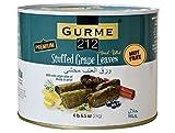 Gurme212 Premium 4.4 lbs Stuffed Vine Leaves (Dolmades) with Olive Oil