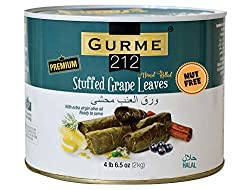 top rated Gurme212 Premium 4.4 lbs of vine leaves (Dolmad) stuffed with olive oil 2021