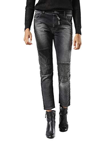 DieselKRAILEY-NE JOGGJEANS - Jeans Relaxed Fit - 0855z