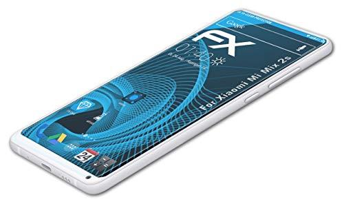 atFolix Schutzfolie kompatibel mit Xiaomi Mi Mix 2s Folie, ultraklare FX Bildschirmschutzfolie (3X)