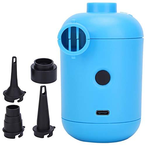 Goshyda Bomba de Aire eléctrica, inflador portátil Inflable eléctrico de la Bomba...