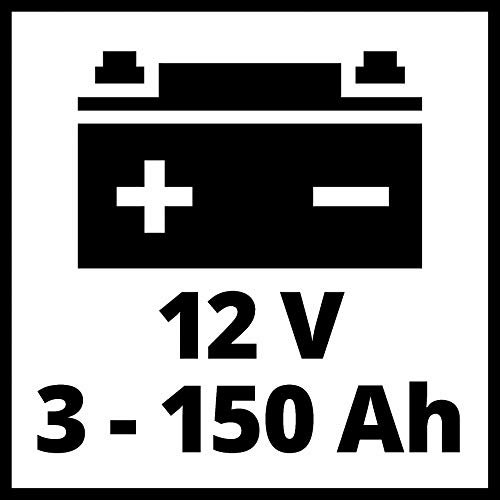 Einhell Cargador de baterías CE-BC 6 M (cargador de baterías inteligente con control por microprocesador para los más distintos tipos de baterías, corriente de carga máx. 6 amperio)