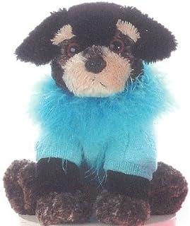 "Aurora Plush 12"" Black Terrier Fancy Pal"