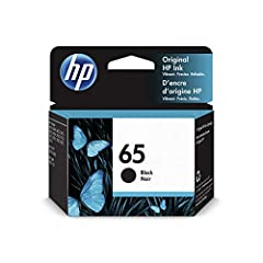 HP 65 ink cartridges work with: HP DeskJet 2622, 2625, 2635, 2636, 2652, 2655, 3720, 3722, 3752, 3755, 3758, 5025, 5055. HP ENVY 5010, 5012, 5020, 5052, 5030, 5032, 5034, 5055. HP AMP 100, 105, 120, 125, 130. Up to 2x more prints with Original HP ink...